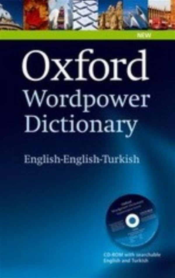 Oxford Wordpower Dictionary English English Turkish