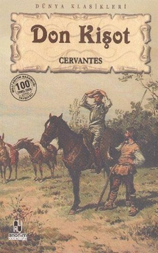 Anonim Cervantes Don Kişot